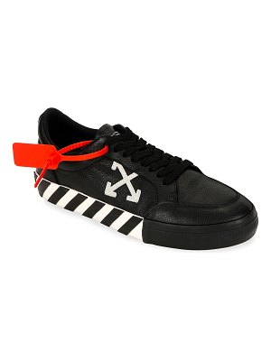 OFF-WHITE Arrow Low-Top Vulcanized Sneakers