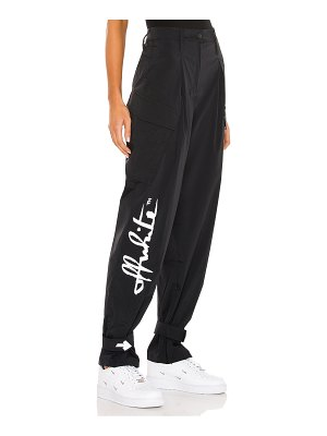 OFF-WHITE athleisure pant