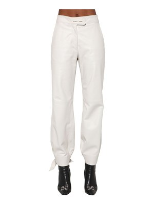 OFF-WHITE Baggy leather pants