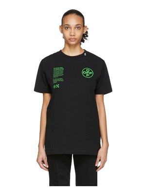 OFF-WHITE black arch shapes t-shirt