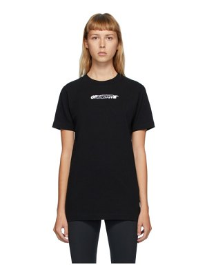 OFF-WHITE black hand painters t-shirt