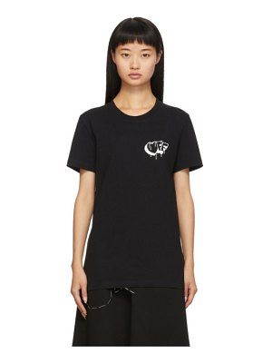 OFF-WHITE black markers t-shirt