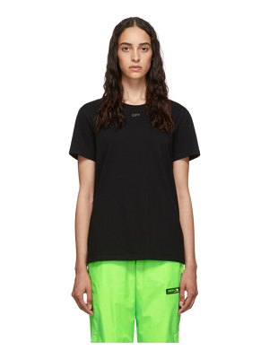 OFF-WHITE black shifted t-shirt