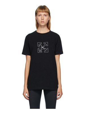 OFF-WHITE black workers t-shirt