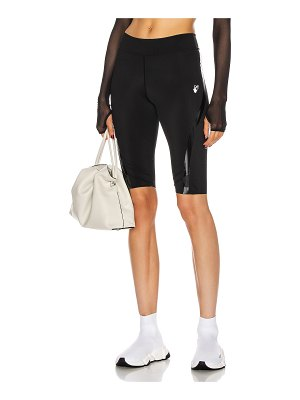 OFF-WHITE cycling short