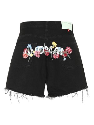 OFF-WHITE denim shorts