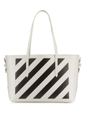 OFF-WHITE Diagonal Stripe Shopper Tote Bag