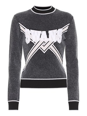 OFF-WHITE embroidered sweater