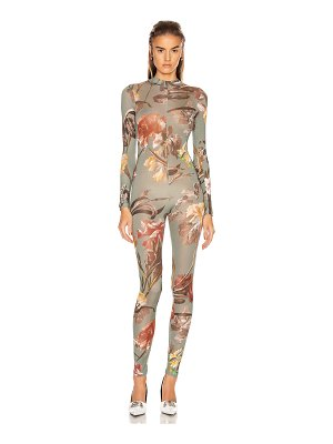 OFF-WHITE floral bodysuit