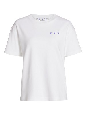 OFF-WHITE flowers arrows t-shirt