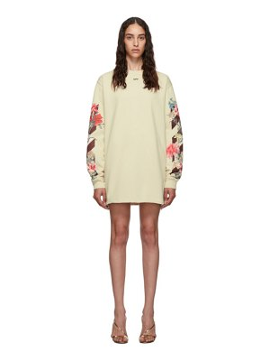 OFF-WHITE flowers dress