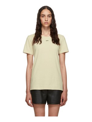 OFF-WHITE flowers t-shirt
