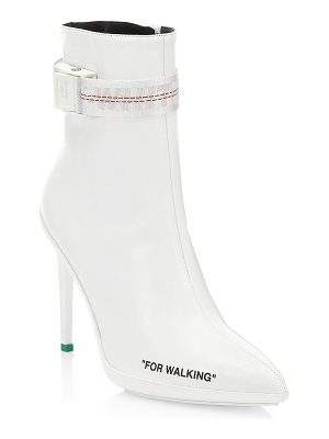 OFF-WHITE for walking stiletto boots