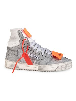 OFF-WHITE glitter off court sneakers