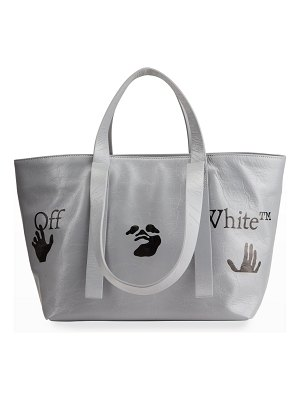OFF-WHITE Graphic-Print Commercial 45 Tote Bag