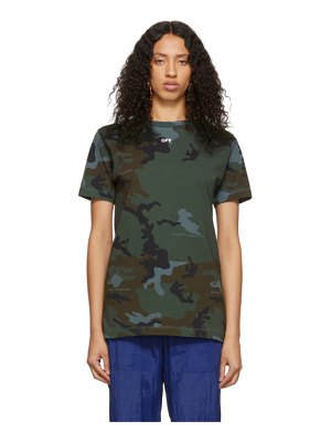 OFF-WHITE green  arrows t-shirt
