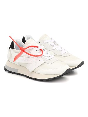 OFF-WHITE hg runner suede sneakers