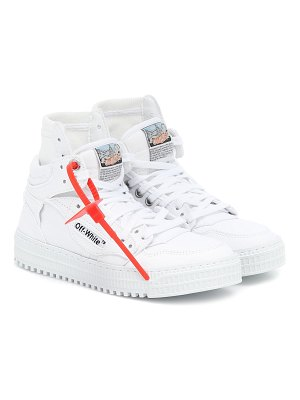 OFF-WHITE high 3.0 canvas sneakers