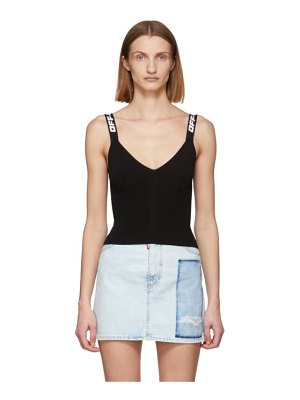 OFF-WHITE industrial knit tank top