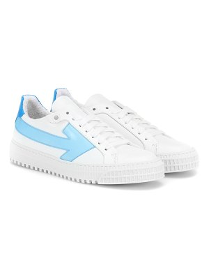 OFF-WHITE leather sneakers