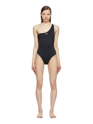 OFF-WHITE logo one-piece swimsuit