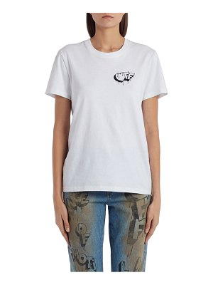 OFF-WHITE markers graphic tee