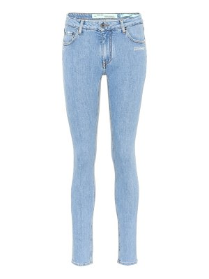OFF-WHITE Mid-rise skinny jeans