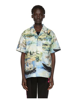 OFF-WHITE multicolor lake holiday shirt
