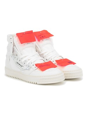 OFF-WHITE off-court 3.0 leather sneakers