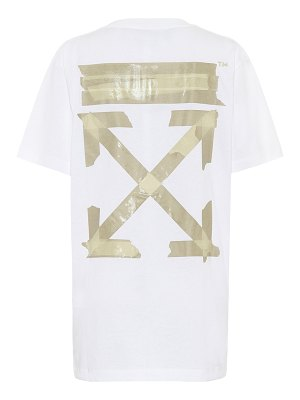 OFF-WHITE oversized printed cotton t-shirt