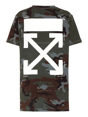 OFF-WHITE printed cotton t-shirt