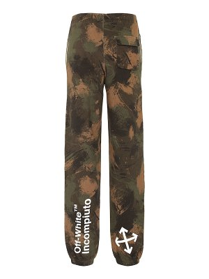OFF-WHITE printed track pants