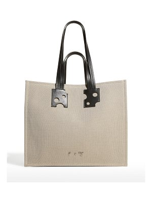 OFF-WHITE Repeat Shopping Tote Bag