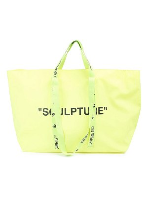 OFF-WHITE sculpture commercial tote