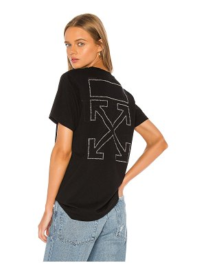 OFF-WHITE shifted casual tee