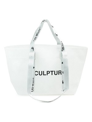 OFF-WHITE small sculpture commercial tote