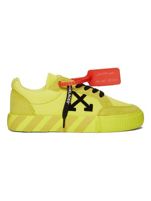OFF-WHITE ssense exclusive  low vulcanized sneakers