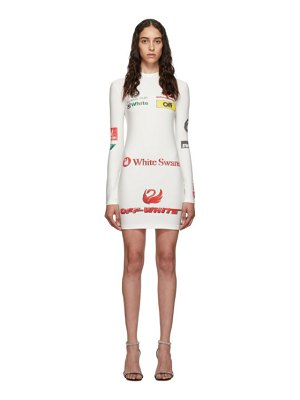 OFF-WHITE ssense exclusive white sporty dress
