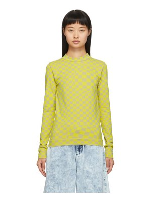 OFF-WHITE stretch long sleeve t-shirt
