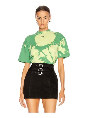 OFF-WHITE tie dye jersey over t shirt