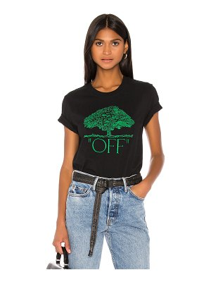 OFF-WHITE tree casual tee