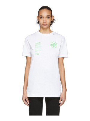 OFF-WHITE white arch shapes t-shirt