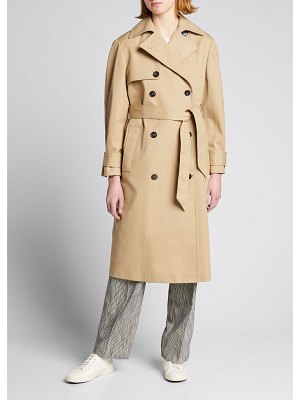 Officine Generale Amy Water-Resistant Trench Coat