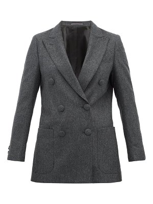 Officine Générale manon double breasted wool blazer