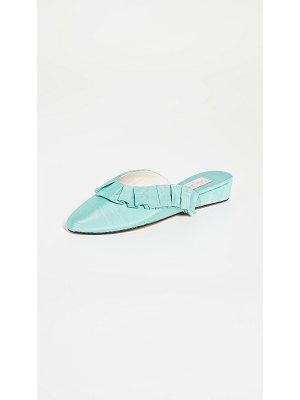 Olivia Morris At Home blossom frill slippers