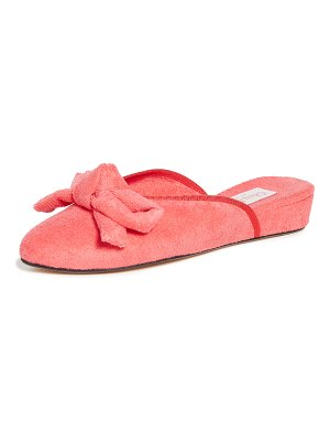 Olivia Morris At Home daphne bow house slippers