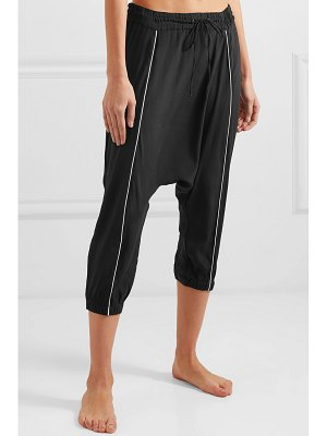 Olympia Activewear alexander stretch-silk track pants
