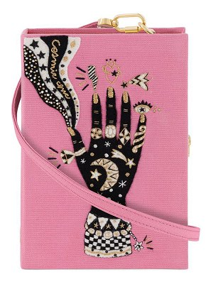 Olympia Le-Tan Cosmic Hand Book Clutch Bag