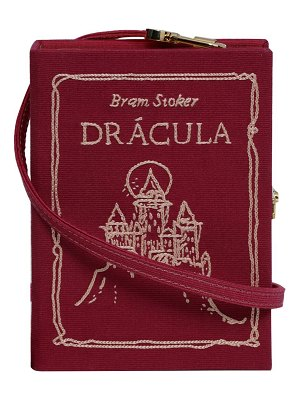 Olympia Le-Tan Dracula Mini Book Clutch Bag