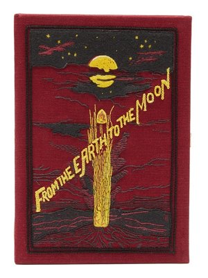 Olympia Le-Tan from the earth to the moon embroidered box clutch